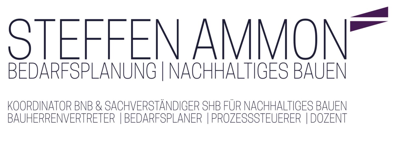 STEFFEN AMMON NACHHALTIGKEITSKOORDINATION Logo