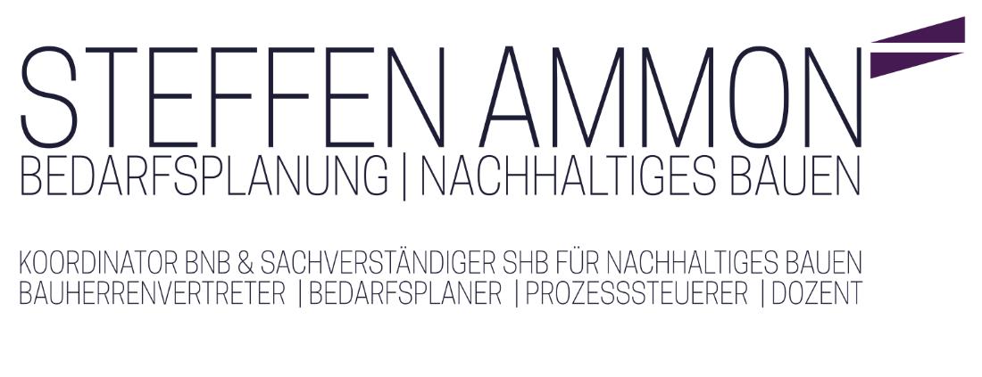 STEFFEN AMMON | BEDARFSPLANUNG | NACHHALTIGES BAUEN Logo